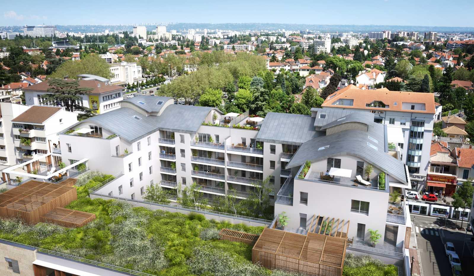 L 39 atrium sier constructeur immobilier lyon promoteur for Constructeur immobilier