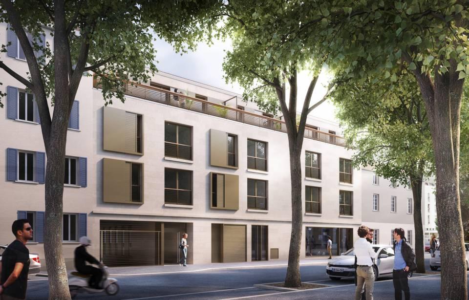 Les courtines sier constructeur immobilier lyon for Constructeur lyon